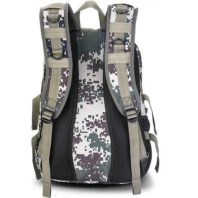 HOWO New Solar Backpacks for Men Large Travel Shoulder Bags Laptop Business Camouflage Sport Rucksack with Detachable Panel 2