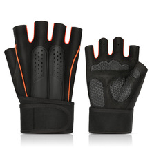 Cycling Gloves Half Finger Mountain Bike Non-slip Gloves Summer Outdoor Sports Fishing Gloves Soft Breathable Fitness Gloves стоимость