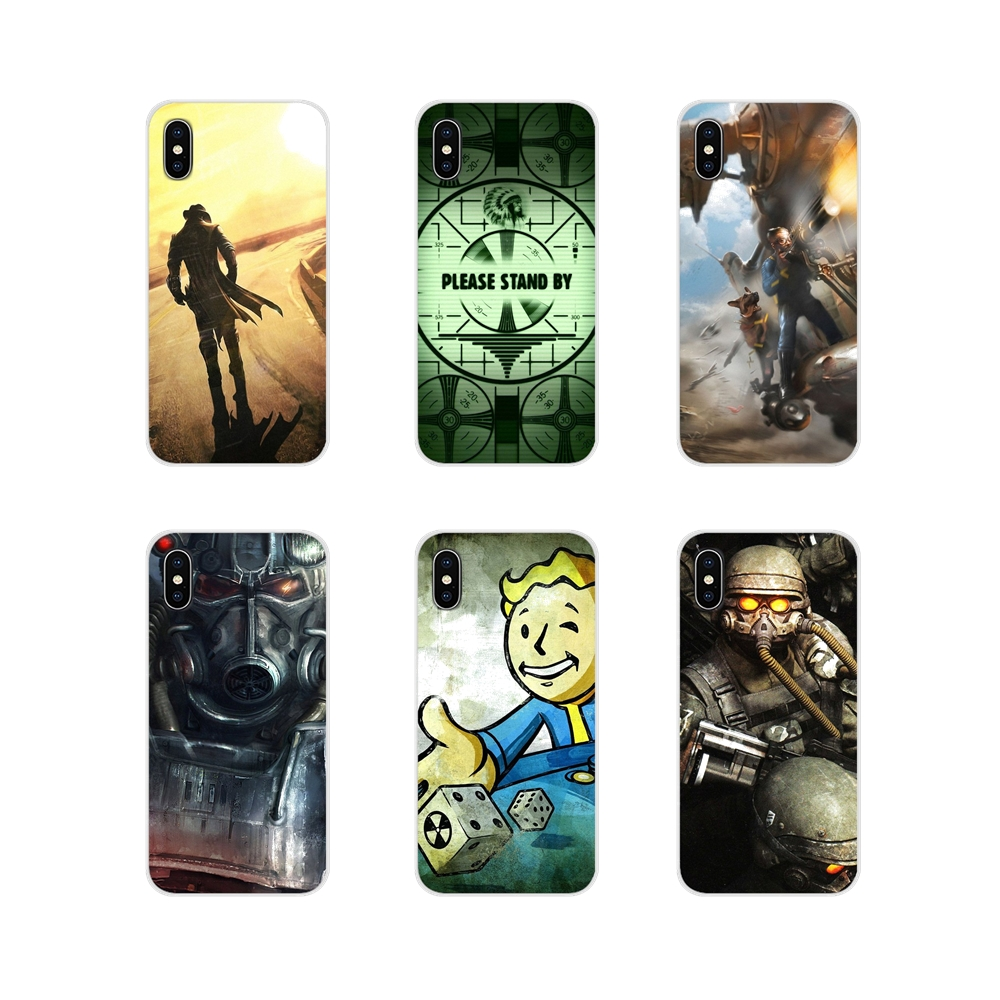 Transparent Soft Cover Bag Fallout 4 Video Games For Huawei G7 G8 P7 P8 P9 P10 P20 P30 Lite Mini Pro P Smart Plus 2017 2018 2019 image