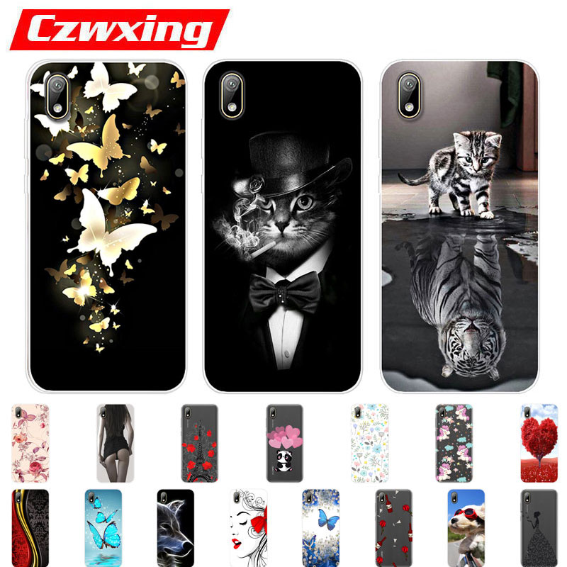 Huawei Y5 2019 Case Silicone TPU Cover Soft Phone Case For Huawei Y5 2019 AMN-LX9 AMN-LX2 AMN-LX1 Y6 2019 Y 5 6 Prime 2019 Case