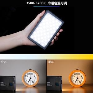 Image 3 - VIJIM Dimmbare LED Video Licht auf Kamera Smartphone Vlog Füllen Licht RGB Wirkung Farbe Gel Licht für Sony A6400 A6300 canon Nikon