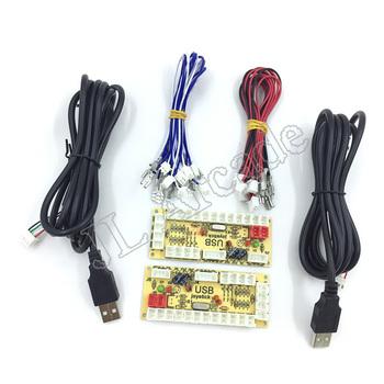 Nowy DIY Zero Delay zręcznościowe części zamienne Mayitr USB Arcade Encoder PC do joysticka i kabla do kontroli DIY zestaw gier zręcznościowych tanie i dobre opinie Pchacz 3 lat UE Wtyczka