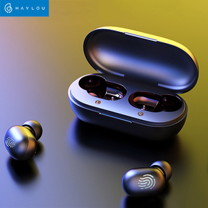 Image 2 - Haylou Gt1 Tws אמיתי אלחוטי Bluetooth אוזניות טביעת אצבע מגע HD סטריאו הפחתת רעש אוזניות