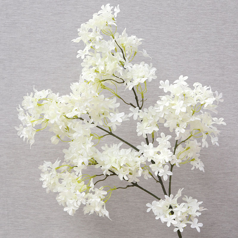 QT1-28 encryption cross cherry blossom wedding decoration silk flower factory wholesale household items