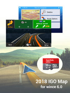Micro-Sd-Cards-16gb Gps Navigation Windows Gps-Map for Free-Update Etc Ce-6.0 Russia/spain