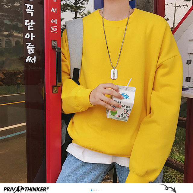 Streetwear Color Match Pullover 6