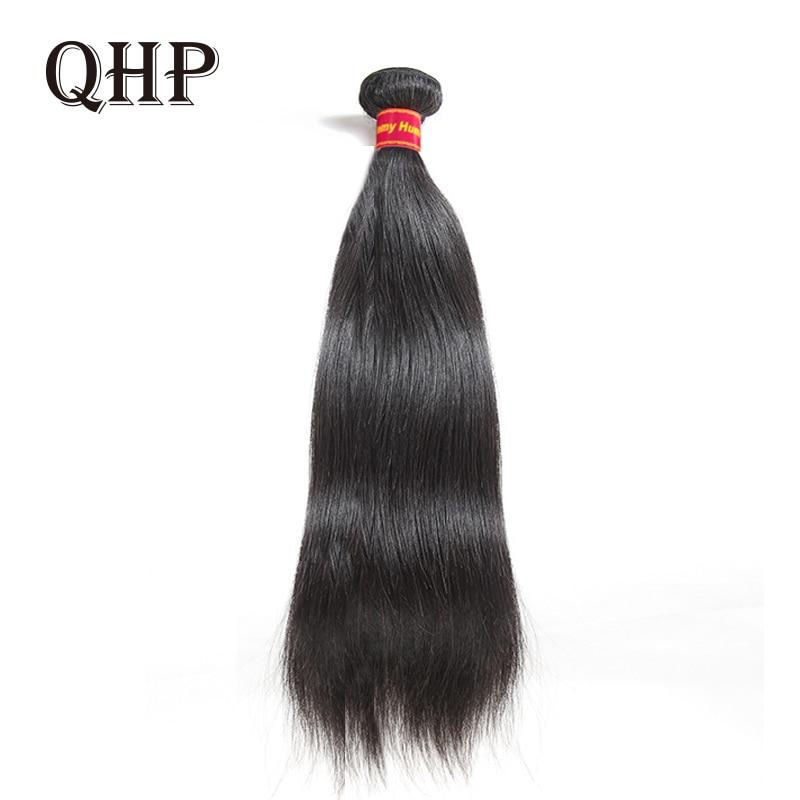 Brazilian Straight Human Hair Weaves Bundles 1/3 Pcs Natural Black Remy Hair 100% Human Hair Bundles