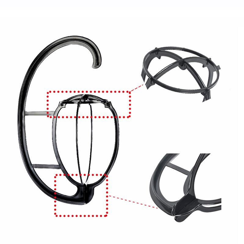 New Hanging Wig Stand Portable Plastic DIY Hats Hanger Detachable Display Hair Dryer Holder Tool For Long & Short Wigs