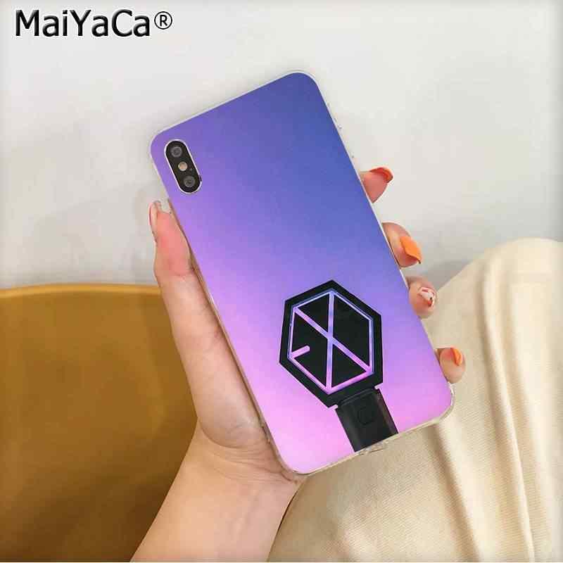 Maiyaca Kpop Exo Lucky Een Telefoon Case Voor Iphone Se 2020 11 Pro Xs Max 8 7 6 6S plus X 5 5S Se Xr Cover