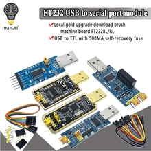 цена на WAVGAT FT232BL FT232RL FT232 USB TO TTL 5V 3.3V Download Cable To Serial Adapter Module For Arduino USB TO 232 support win10