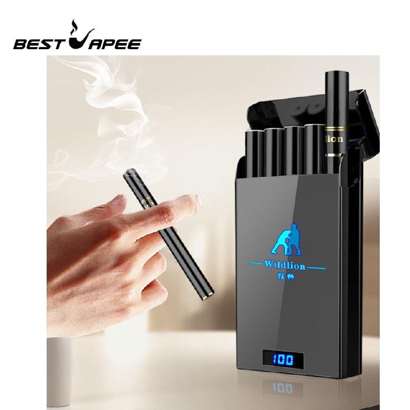 Pod Pod Starter Kit Vape bobina de cerâmica LED Sistema de indicação de energia da bateria 180mAh kit Caneta Vape Cigarro Eletrônico Kit VS w01