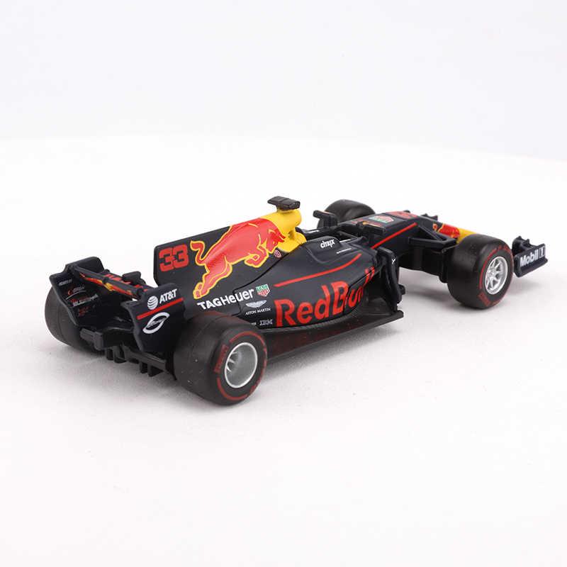 Bburago 1/32 1:32 Red Bull TAG Heuer RB13 No33 Max Verstappen F1 Fórmula 1 modelo de exhibición de fundición de coches para niños y niñas