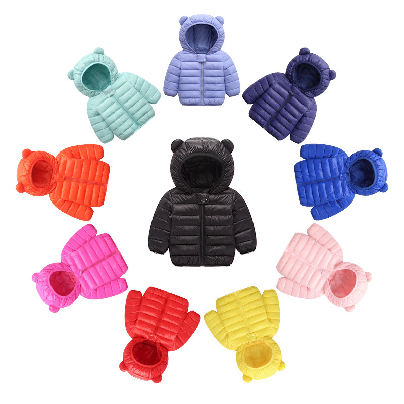 Autumn Winter Warm Jackets For Girls Coats For Boys Jackets Baby Girls Jackets Kids Hooded Outerwear Coat Children Clothes 2019