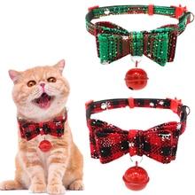 Harness Bells Pet-Festival-Supplies Pet-Cat-Collar Dog Cats Christmas No Bowknot Bow-Tie