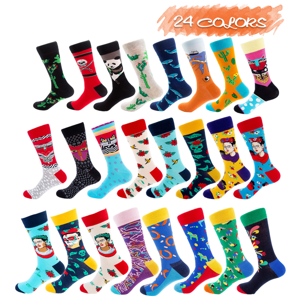 UGUPGRADE Funny Exotic Uni-sex Happy Design Cotton Priented Socks For Gym Socks For Boy And Gril