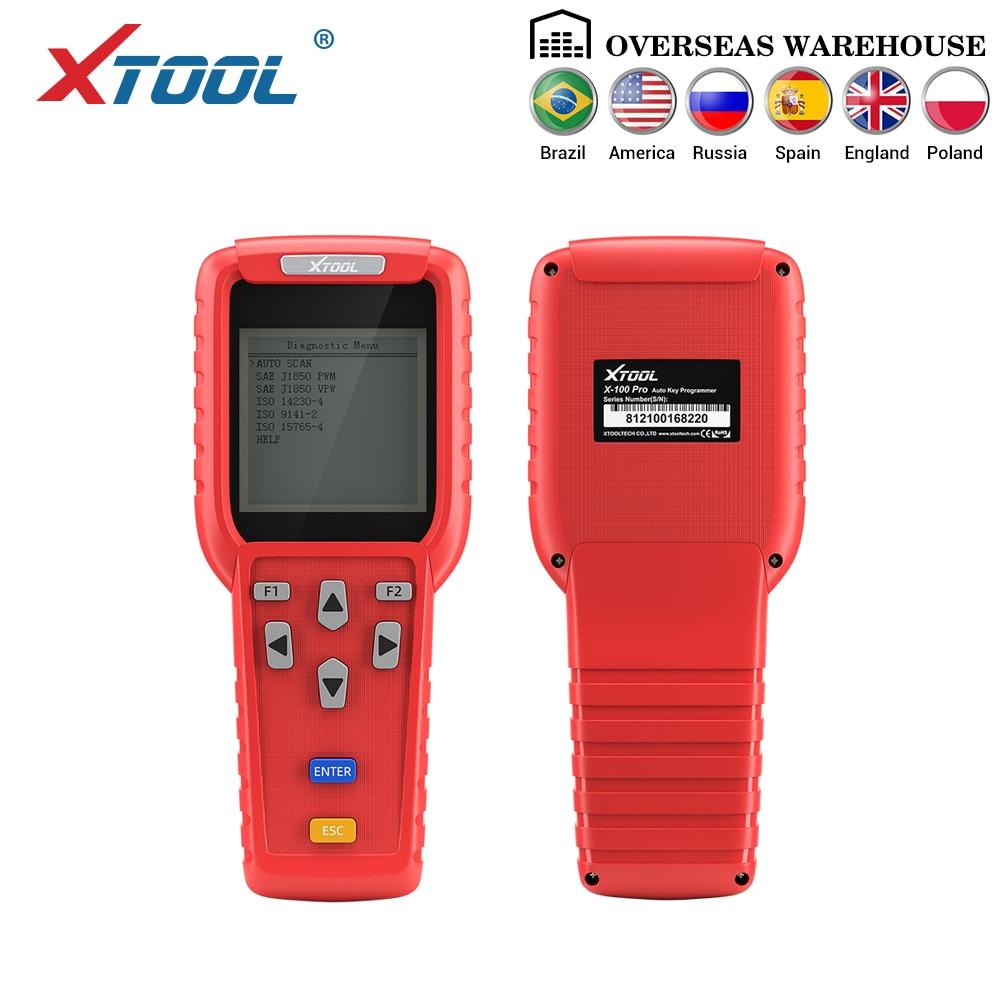 XTOOL X100 Pro Programador Chave Auto Profissional e ajuste de Quilometragem Odomete Trabalho para a maioria dos modelos de carro frete grátis