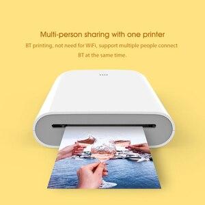 Image 3 - Xiaomi Printer AR Printer 300dpi Portable Photo Mini Pocket With DIY Share 500mAh picture printer pocket printer work with mijia