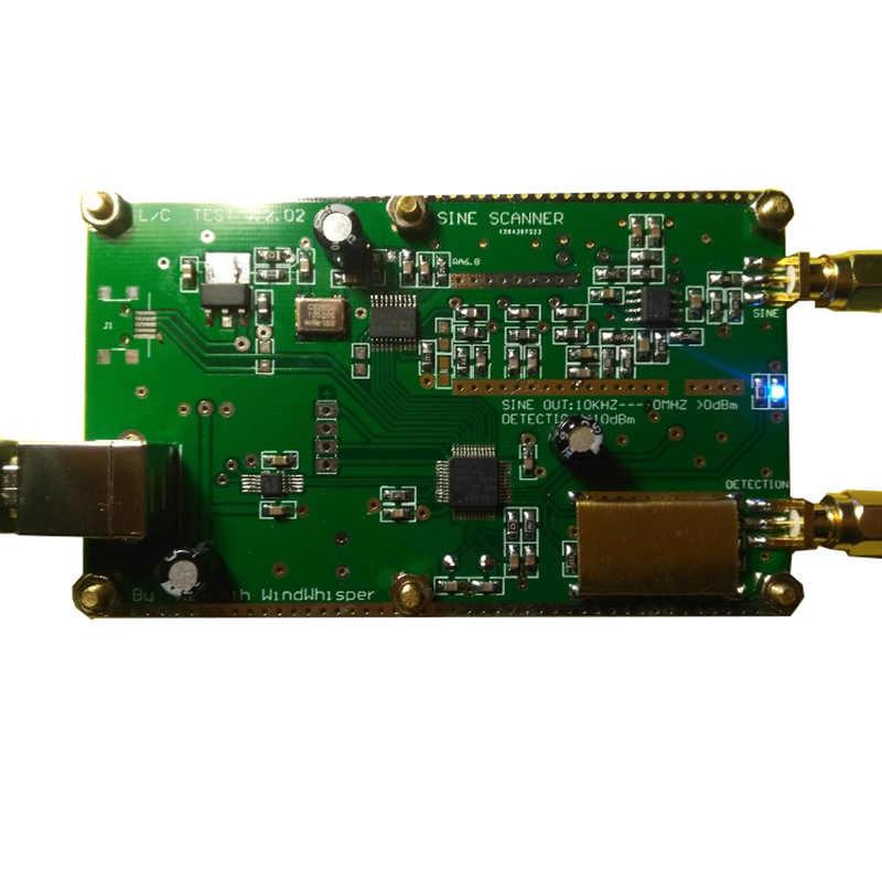 Простая портативная подметальная машина AD9834 источник DDS генератор сигналов 0,05 МГц-40 МГц Емкость тестер индуктивности для радиолюбителей