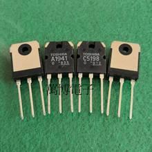 2 pares 2sa1941 2sc5198 a1941 c5198 o original novo produto feito no japão TO 3P1