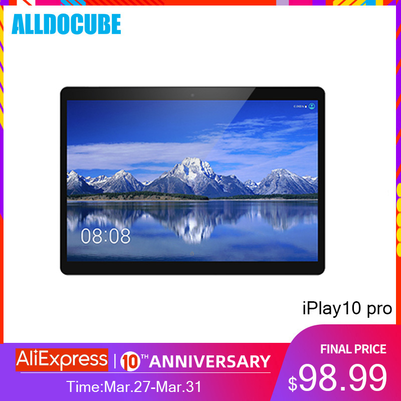 Alldocube Tablet PC Iplay10 HDMI Android-9.0-Ram Pro MT8163 3GB 32GB Wifi IPS Kid Quad-Core title=