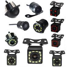 Nowa kamera HD Night Vision tylna kamera samochodowa szerokokątna kamera cofania wodoodporna CCD LED dodatkowa samochodowa Monitor uniwersalny do BMW