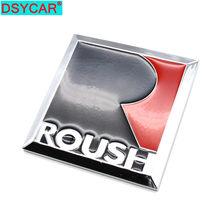 DSYCAR 3D Metal pegatina con emblema para coche SUV cuerpo Exterior cubierta calcomanías DIY coche-estilo de 3D pegatinas para Ford Mustang ROUSH modificado