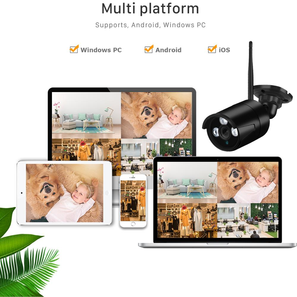 Image 5 - BESDER 2MP Wireless IP Camera 1080P HD Night Vision Outdoor  Wifi Camera IP Onvif TF Card Storage Waterproof CCTV Surveillance-in Surveillance Cameras from Security & Protection