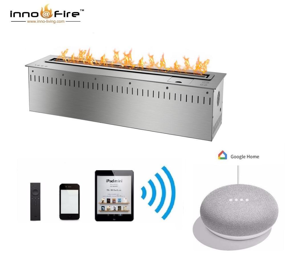 Inno Living Fire 36 Inch Indoor Used Bio Fireplace Intelligent Ethanol Burner