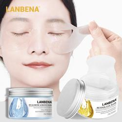 LANBENA Eye Patch Hyaluronic VC Retinol Golden Osmanthus Acid Moisturizing Serum Anti-Aging Dark Circle Eye Mask Eye Care TSLM2