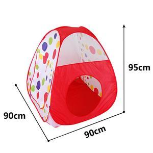 Image 5 - Tienda de campaña grande para niños, Teepee de tubo de piscina, PISCINA DE BOLAS para niños, Pit plegable, tubería para gateo, casa de juego