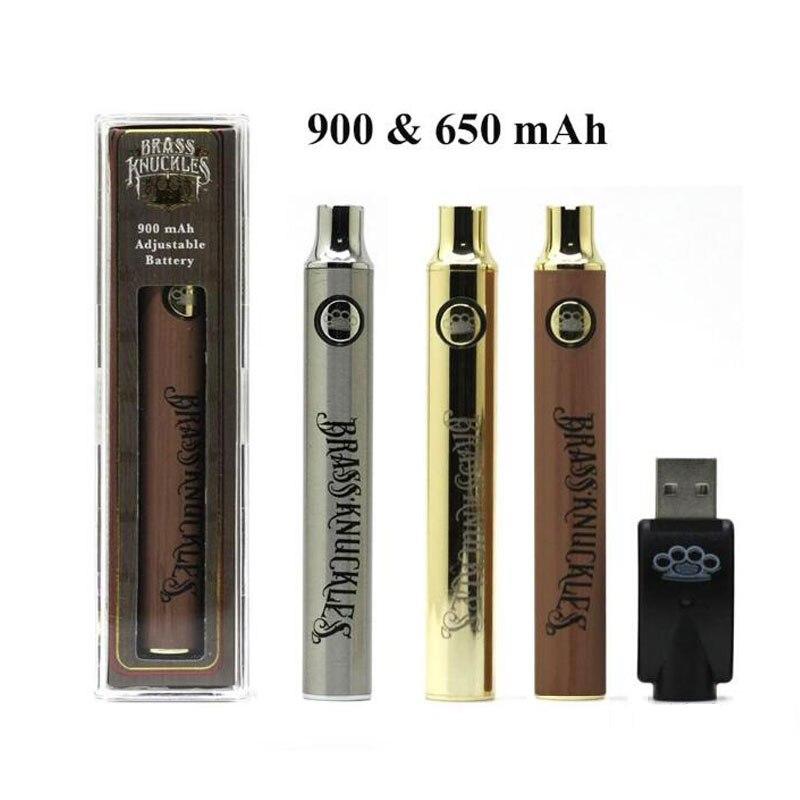 5pcs 10pcs CBD BK Battery 510 Thread USB Charging Vape Pen 650 900mAh VV Preheat Battery For Thick Oil Cartridges Atomizer Kit
