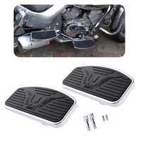 Estribo de apoyo de clavijas de pedal ancho MX para motocicleta Honda VTX 1300/1800 bulevar/Intruder 9.4x4.9x0. 6 ''accesorios de motocicleta