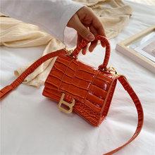 Sac à bandoulière de marque pour femmes, sacs à bandoulière élégants de styliste, sacs à main en cuir PU, nouveau Mini sac messager pur pour dames, 2020