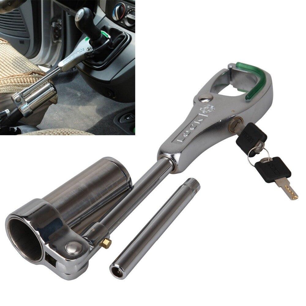 Universal Car Anti-theft Brake Gear Shift Knobs Handbrake Lock For Toyota Honda Audi Nissan