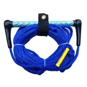 Image 5 - 72ft 1 секция водных лыж веревки с плавающей ручкой ориентированной пластиковой пленки и этиленвинилацетата зажимные приспособления для слалом воды Лыжный Спорт Каякинг вейкскейтинг