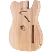 Unfinished E-gitarre Körper TL-T02 Ahorn Leere Gitarre Barrel zu TELE Stil Elektrische Gitarren DIY Teile cheap NONE CN (Herkunft)