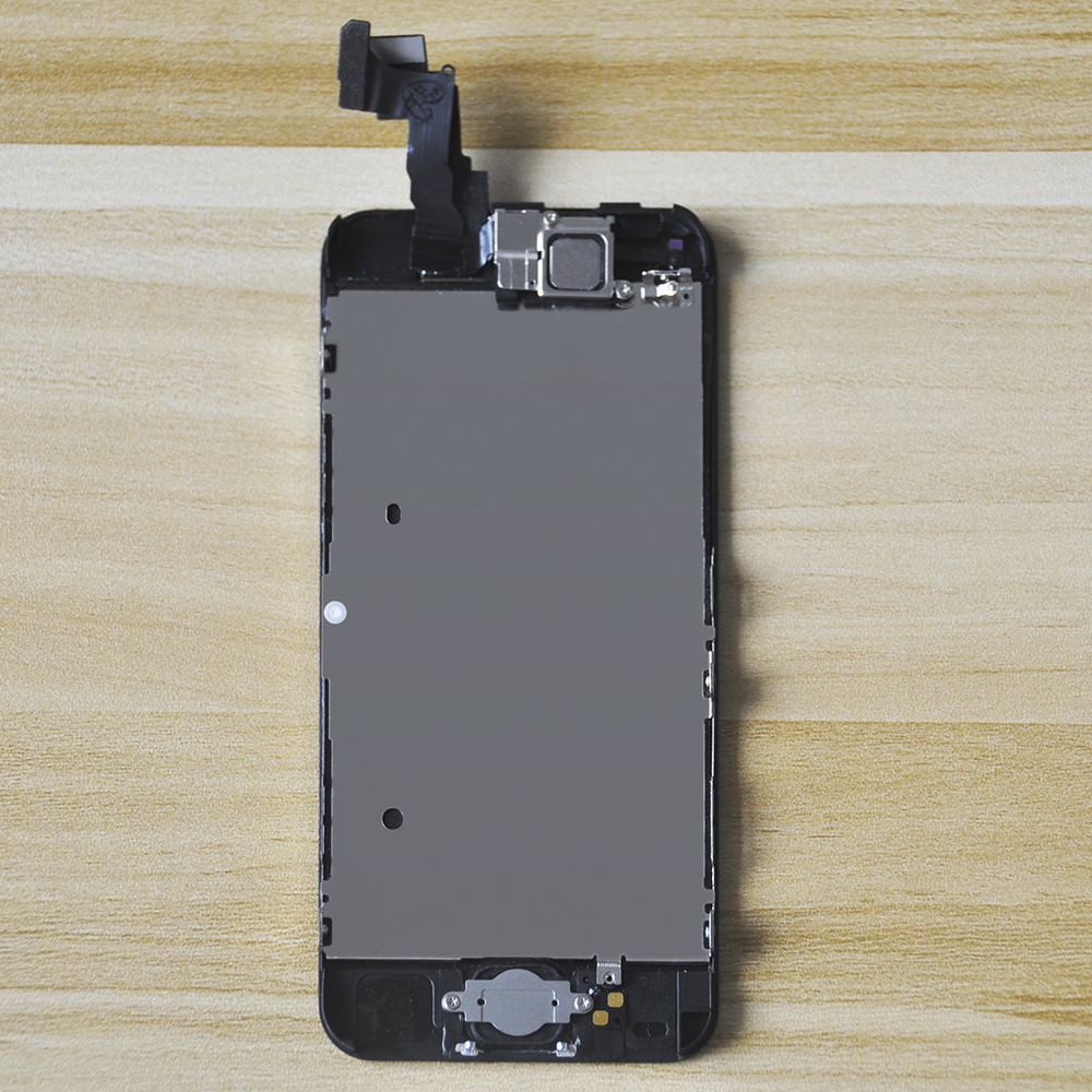 AAA Quality  LCD For IPhone 5 5s Se 5c LCD Display Touch Screen Digitizer Assembly With Home Button Front Camera For IPhone 5
