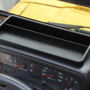 Image 5 - صندوق تخزين لوحة القيادة لسيارة جيب رانجلر TJ 1997 2006 داش حامل هاتف درج منظم