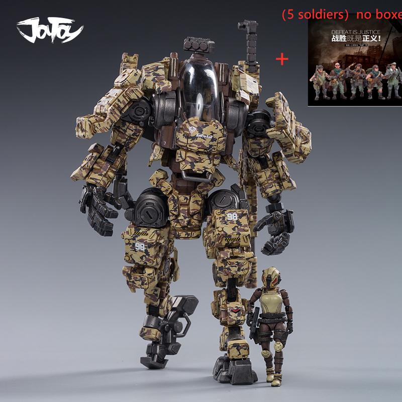 7pcs/lot JOYTOY 1/25 Action Figure Robot Steel Bone H03 Armor Mecha Collection Model Toys Free Shipping