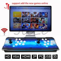 Just On Sale Pandora 3D Retro Arcade Box 4018 in 1 Save Function Zero Delay ,Support Online Connection WIFI Download Game