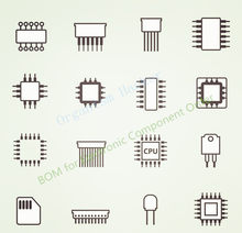 BOM for electronic component order,Integrated Circuits,Capacitance, Resistance, Electrolysis Inductance ,Diode,Transistor,CPU ,MCU,CPLD,FPGA,,CMOS,ADC,ESD,EEPROM,SDRAM,DDR,FLASH,IGBT,MLCC,IGFET,LED and so on(China)