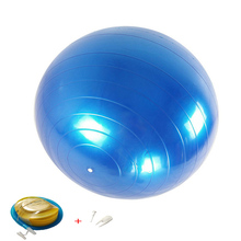 Yoga-Balls Balance Massager-Point Exercise Fitball Fitness Pilates Pump Gym 55CM