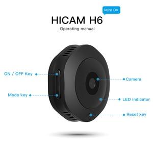 Image 2 - H6 1080P מיני מצלמה Wifi ספורט אבטחת בית מצלמה ראיית לילה אלחוטי מעקבים מצלמה Motion Dvr מיקרו מצלמה קטנה