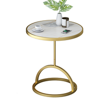 Table High-End Small Sofa Light Rock-Board Tea Atmosphere Few Balcony Edge-A Exquisite