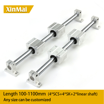 Linear Rail Slide support DIY CNC 1