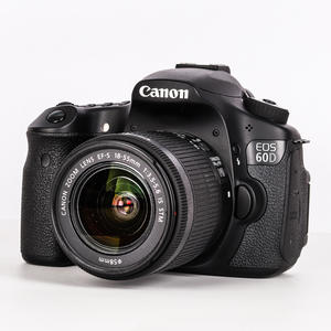 Canon EOS Camera Stm-Lens 60D And IS 95%New Digital SLR 18-55mm-F/3.5-5.6