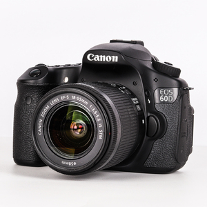 95% NEW Canon 18-55 Lens Canon EF-S 18-55mm f/3.5-5.6 IS STM Lens and Canon EOS 60D digital SLR camera