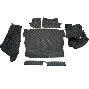 Image 2 - Alfombrilla para maletero de coche, revestimiento de maletero, suelo de carga, bandeja protectora, accesorios, alfombrillas, para Toyota RAV4 XA50 2019