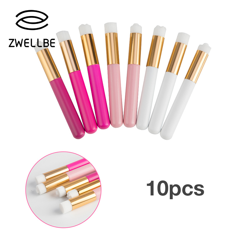 3/10pcs Eyelash Cleaning Brush Eyelashes Extension Cleansing Nose Brush Clean Lash Shampoo Brushes Makeup Cosmetic Applicator(China)