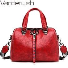 Famous Brand Women Handbags Soft Leather Messenger Bag Femal